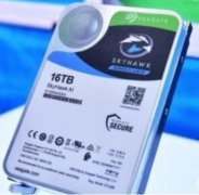 希捷推出16TB酷鹰人工智能监控硬盘