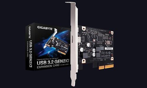 技嘉USB3.2 Gen 2x2扩展卡